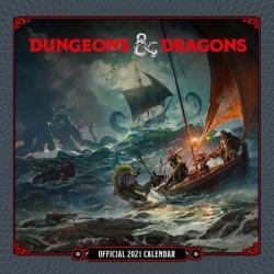 Dungeons & Dragons 2021 Wall Calendar