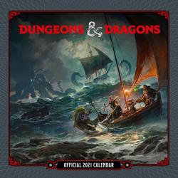 Dungeons & Dragons 2021 Wall Calendar