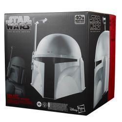 Star Wars Black Boba Fett Proto Armor Electronic Helmet