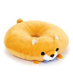Mameshiba Sankyoudai Plush: Donut Pillow Mametaro