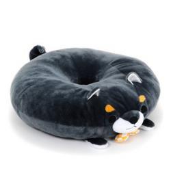 Mameshiba Sankyoudai Plush: Donut Pillow Mamejiro