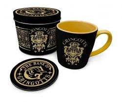 Harry Potter Mug with Coaster Gringotts