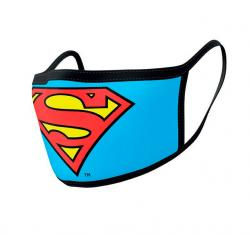 Superman Face Covering 2-Pack Logo