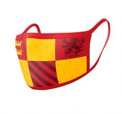 Harry Potter Face Covering 2-Pack Gryffindor