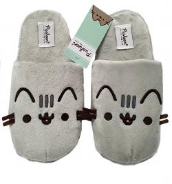 Pusheen 3D Slippers Plush Embroidered Slip On Size L