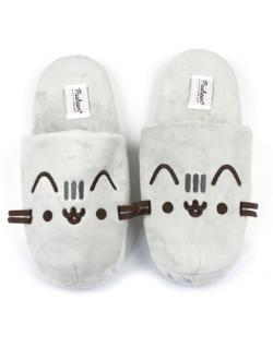 Pusheen 3D Slippers Plush Embroidered Slip On Size M
