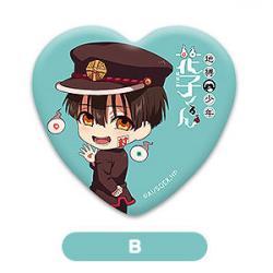 Hanako-kun B Heart Can Badge Nendoroid Plus