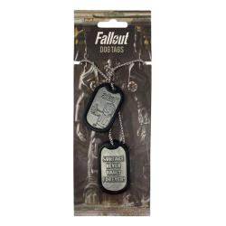 Dog Tags with Ball Chain Logo