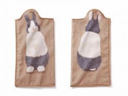 Bottle Towel Dutch Rabbit