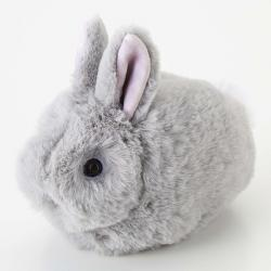 Rabbit Pouch Gray