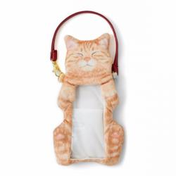 Cat Smartphone Pouch Red