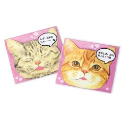 Cat Blotting Paper Mackerel Tabby & Manx