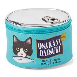 I'm hungry! Canned Cat Food Pouch Aqua