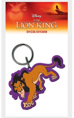 Lion King Scar Rubber Keychain
