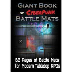 Battle Mats: Giant Book of CyberPunk Battle Mats