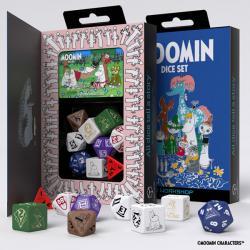 Moomin Dice Set (9 dice)