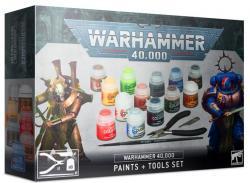 Warhammer 40.000 Paints + Tools Set