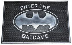 Rubber Doormat Enter the Batcave 40 x 60 cm