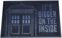 Rubber Doormat Tardis 40 x 60 cm