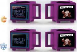 Donkey Kong It's on Like Heat Change Mug