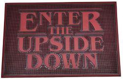 Rubber Doormat Upside Down 40 x 60 cm