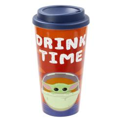 Travel Mug The Child (Baby Yoda) Drink Time