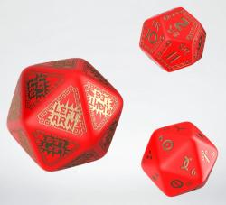 RuneQuest RPG - Red & Gold Expansion Dice