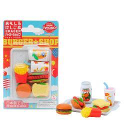 Fast Food Eraser Set