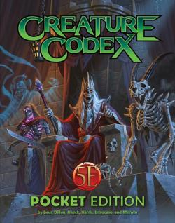 Creature Codex (pocket edition)