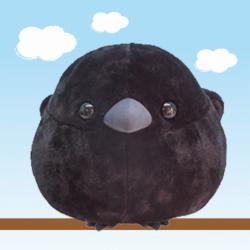 Fuku Fuku Crow Plush: Big Kajiro