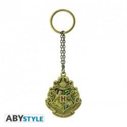 Keychain 3D Hogwarts Crest
