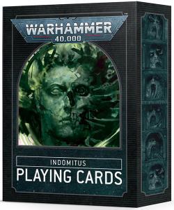 Warhammer 40.000 Indomitus - Playing Cards