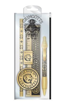 Harry Potter Gringotts Standard Stationery Set