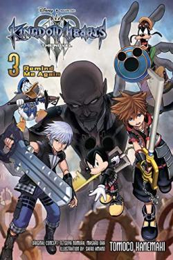 Kingdom Hearts III Novel Vol 3