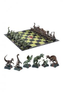 Chess Set Dinosaurs