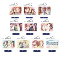 Love Live! Sunshine! ! Miniature Canvas Key Chain 01 Vol. 1