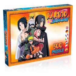 Shippuden Jigsaw Puzzle Characters (500 pieces)