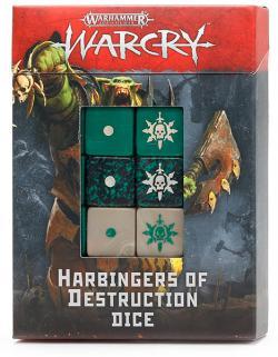 Warcry Dice: Harbingers Of Destruction