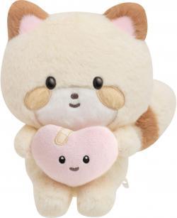 Kokoro Araiguma Plush: Hugs Fill Your Heart
