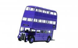 Triple Decker Knight Bus Corgi 1: 76 Scale Die-Cast