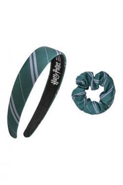 Harry Potter Headband Scrunchy Set Slytherin