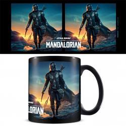 The Mandalorian Nightfall Black Pod Mug