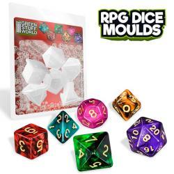 RPG Dice Moulds