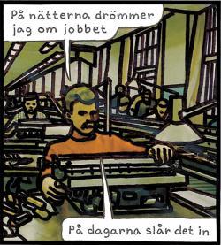 Magnet Jan Stenmark Arbetet