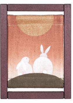 Framed Small Tapestry Meoto Usagi