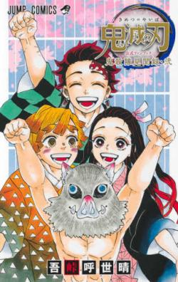 Demon Slayer Kimetsu no Yaiba Fan Book 2 (Japanska)