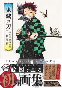 Demon Slayer Kimetsu no Yaiba Art Book Ikuboshi Frost (Japanska)