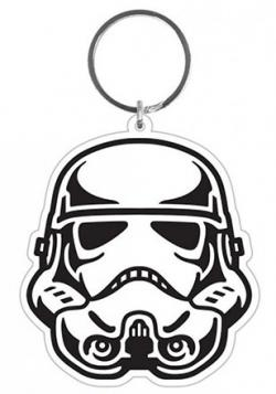 Stormtrooper Rubber Keychain