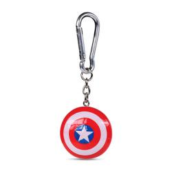 Captain America 3D-Keychain Shield 4 cm