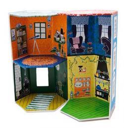 Muminhuset med 3 böcker